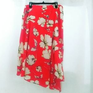 Dresses & Skirts - Floral Coral Skirt
